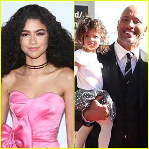 Dwayne Johnson's Daughter Jasmine Is Zendaya's Mini Me!
