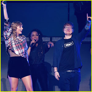 Ed Sheeran Joins Taylor Swift Again For 'End Game' Live!