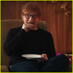 Ed Sheeran Transforms Into the 'Ginger Ed Man' in Spotify Spot (Video)