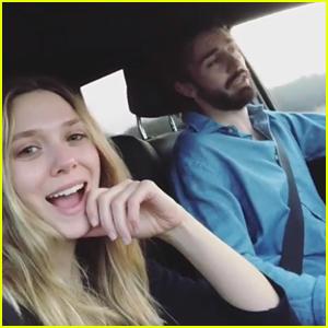 Elizabeth Olsen & Boyfriend Robbie Arnett Go On a Road Trip!
