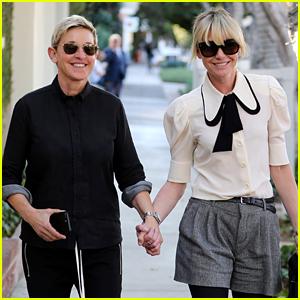 Ellen DeGeneres & Portia de Rossi Look So Happy Together!