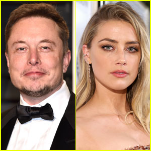 Amber Heard & Elon Musk Spotted Kissing Amid Romance Rumors