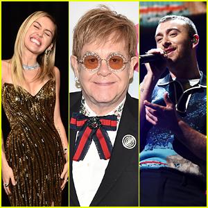 Miley Cyrus, Sam Smith & More to Perform at Elton John Grammy Tribute!