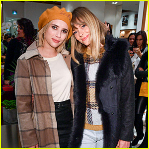 Emma Roberts & Jaime King Bundle Up in Toronto for Woolrich Store Opening