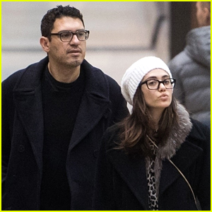 Emmy Rossum & Sam Esmail Spend the Day Sightseeing in Paris