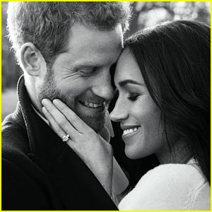 Prince Harry & Meghan Markle Release Official Photos to Mark Engagement!