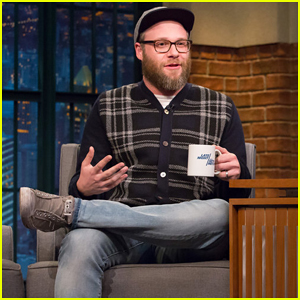 Seth Rogen Talk 'The Disaster Artist' & Deliever Hilarious 'Clear the Air' Sketch on 'Late Night'!