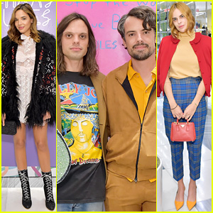 Georgie Flores & Tallulah Willis Help the Haas Brothers Celebrate Their Barneys Collaboration!