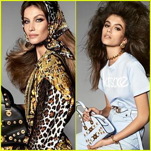 Gisele Bundchen & Kaia Gerber Star in Versace's New Campaign