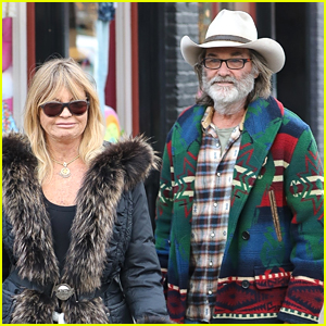 Goldie Hawn & Kurt Russell Spend the Day Shopping in Aspen