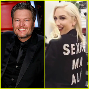 Gwen Stefani & Her Kids Try on Blake Shelton's 'Sexiest Man Alive' Jacket at 'The Voice' Finale