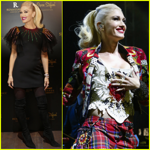 Gwen Stefani Brings the Holiday Spirit to Dubai!