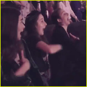 Haim Are Total Fangirls at Britney Spears' 'Piece Of Me' Residency - Watch!