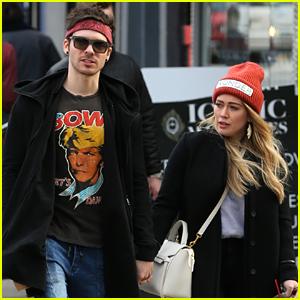 Hilary Duff & Boyfriend Matthew Koma Hold Hands in NYC