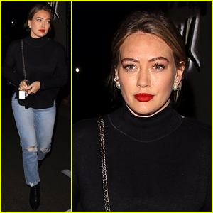 Here's What Happens When Hilary Duff Tries to Christmas Shop