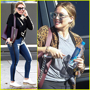 Hilary Duff Takes Her Son Luca to Legoland!