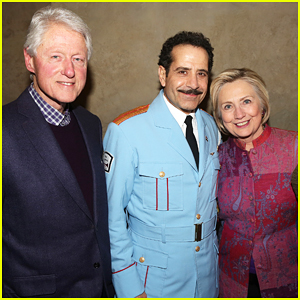 Hillary Clinton & Hubby Bill Check Out Performance of Broadway's 'The Band's Visit'!