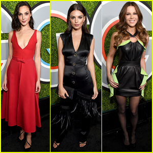 Honoree Gal Gadot Goes Red Hot for GQ Men of the Year Dinner