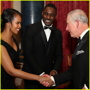 Idris Elba Introduces His Girlfriend to England's Future King!