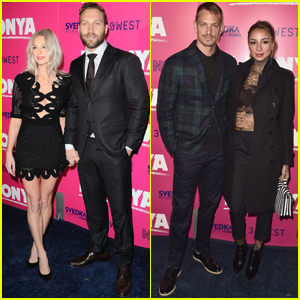 Jai Courtney & Joel Kinnaman Support Margot Robbie at 'I, Tonya' Premiere
