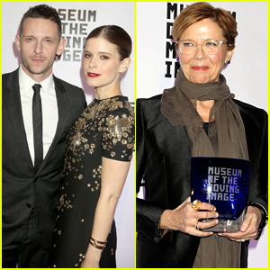 Jamie Bell & Kate Mara Step Out to Honor Annette Bening at Museum of the Moving Image