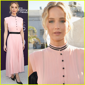 Jennifer Lawrence Arrives Ahead of Sherry Lansing Award Presentation!