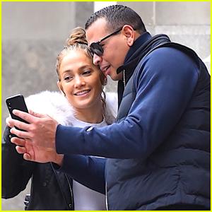 Jennifer Lopez & Alex Rodriguez Couple Up in NYC