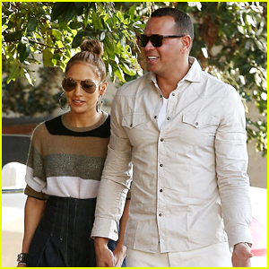 Jennifer Lopez & Alex Rodriguez Spend a Nice Afternoon Together
