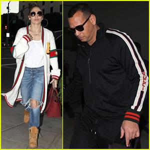 Jennifer Lopez & Alex Rodriguez Shop at Tom Ford in Beverly Hills