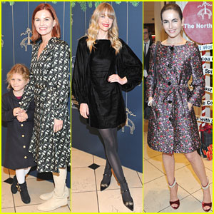 Jennifer Morrison, Jaime King, & Camilla Belle Get Festive at Brooks Brothers Holiday Party