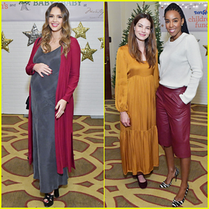 Jessica Alba, Kelly Rowland, Michelle Monaghan & More Celebrate at Baby2Baby Holiday Party!