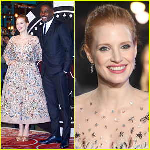 Jessica Chastain & Idris Elba Bring 'Molly's Game' to UK!
