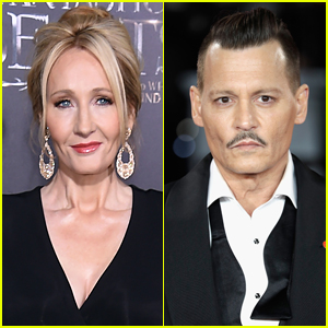 J.K. Rowling Defends Johnny Depp Casting in 'Fantastic Beasts'