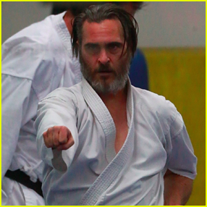 Joaquin Phoenix Works Up a Sweat at His Karate Class!