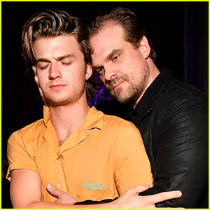 Joe Keery Offers to Shave His Head if David Harbour Wins a Golden Globe!