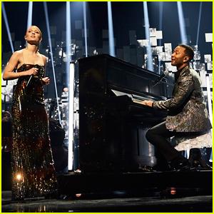 John Legend & Zara Larsson Perform 'God Only Knows' Duet at Nobel Peace Prize Concert 2017!