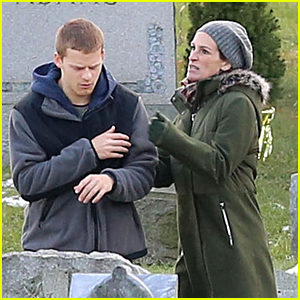 Julia Roberts & Lucas Hedges Get Into Heated Fight Filming 'Ben is Back'