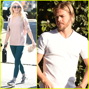 Julianne Hough & Brother Derek Step Out Separately in LA
