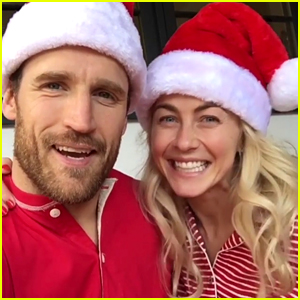 Julianne Hough Writes a 'Sappy' Christmas Message, Spends Holiday with Husband Brooks Laich!