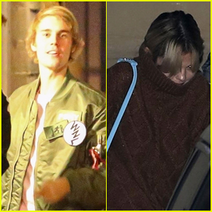 Justin Bieber & Selena Gomez Reunite After Her Trip to London (Photos)