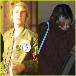 Justin Bieber & Selena Gomez Reunite After Her Trip to London (Photos)