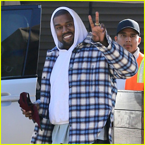 Kanye West Flashes a Peace Sign While Out for Lunch in Malibu!