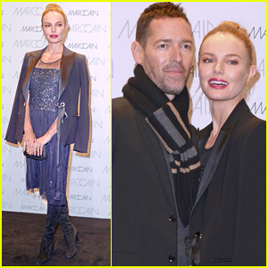 Kate Bosworth is Joined by Husband Michael Polish at Marc Cain Fashion Show