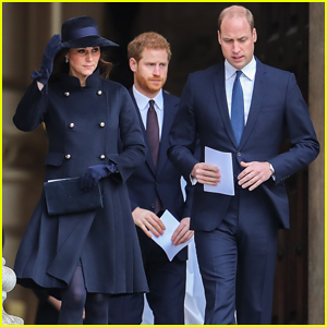 Kate Middleton, Prince William & Prince Harry Step Out for Grenfell Memorial Service!