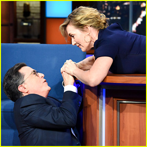 Kate Winslet Fixes the Ending to 'Titanic' with Stephen Colbert!