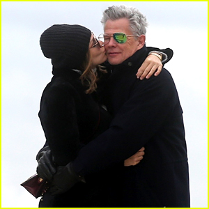Katharine McPhee & David Foster Pack on PDA, Look So Happy in Paris!