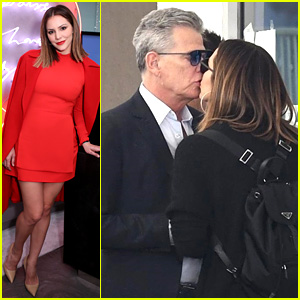 Katharine McPhee & David Foster Spotted Kissing!
