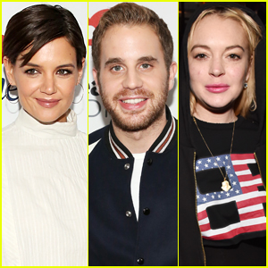 Katie Holmes, Ben Platt, & Lindsay Lohan Rock Out at Jingle Ball 2017 in NYC!
