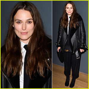 Keira Knightley Attends Press Night for 'The Grinning Man' in London