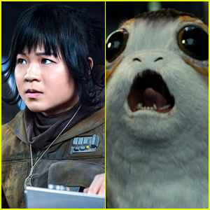 Star Wars' Kelly Marie Tran Dressed as a Porg on Halloween!